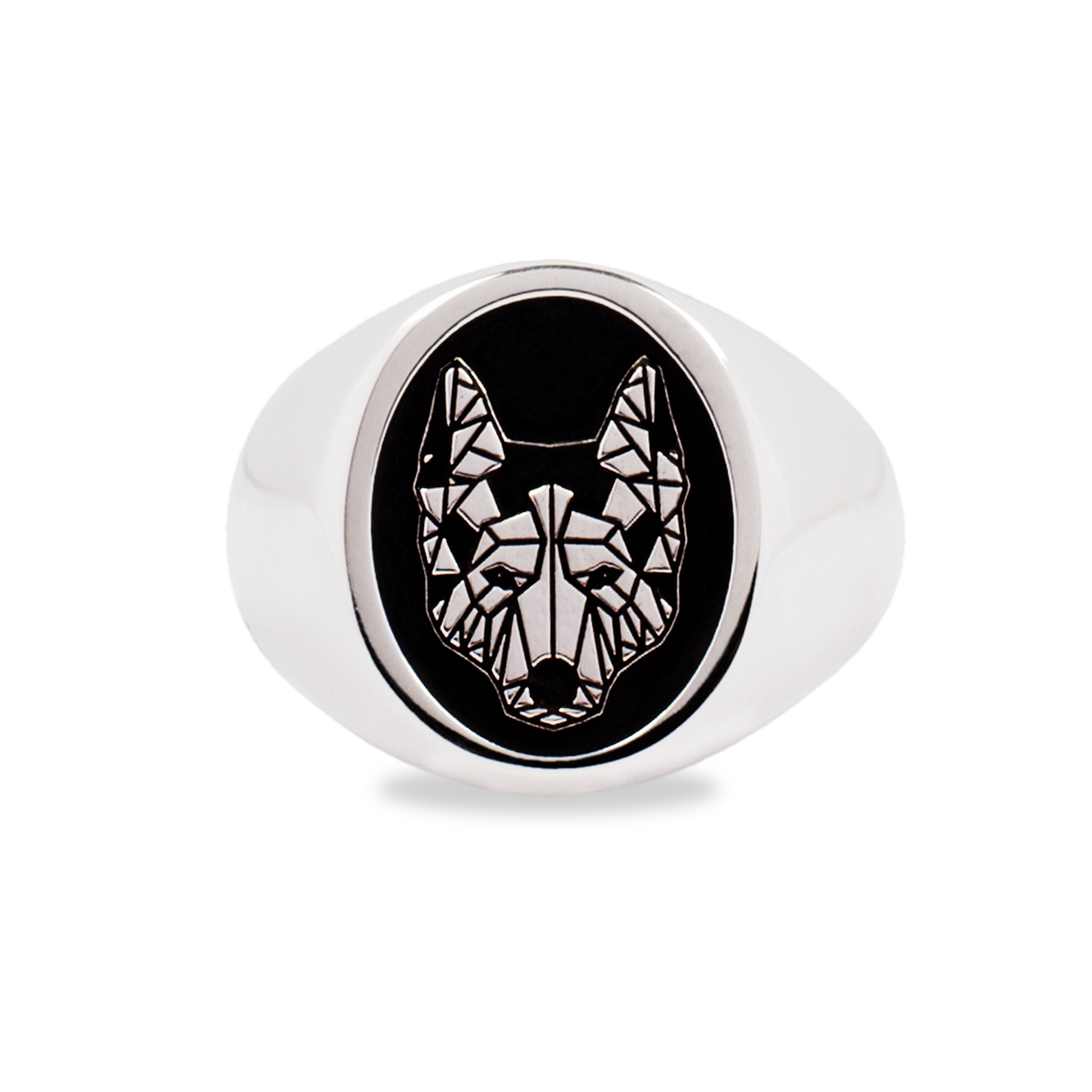 925 Silver Wolf Ring