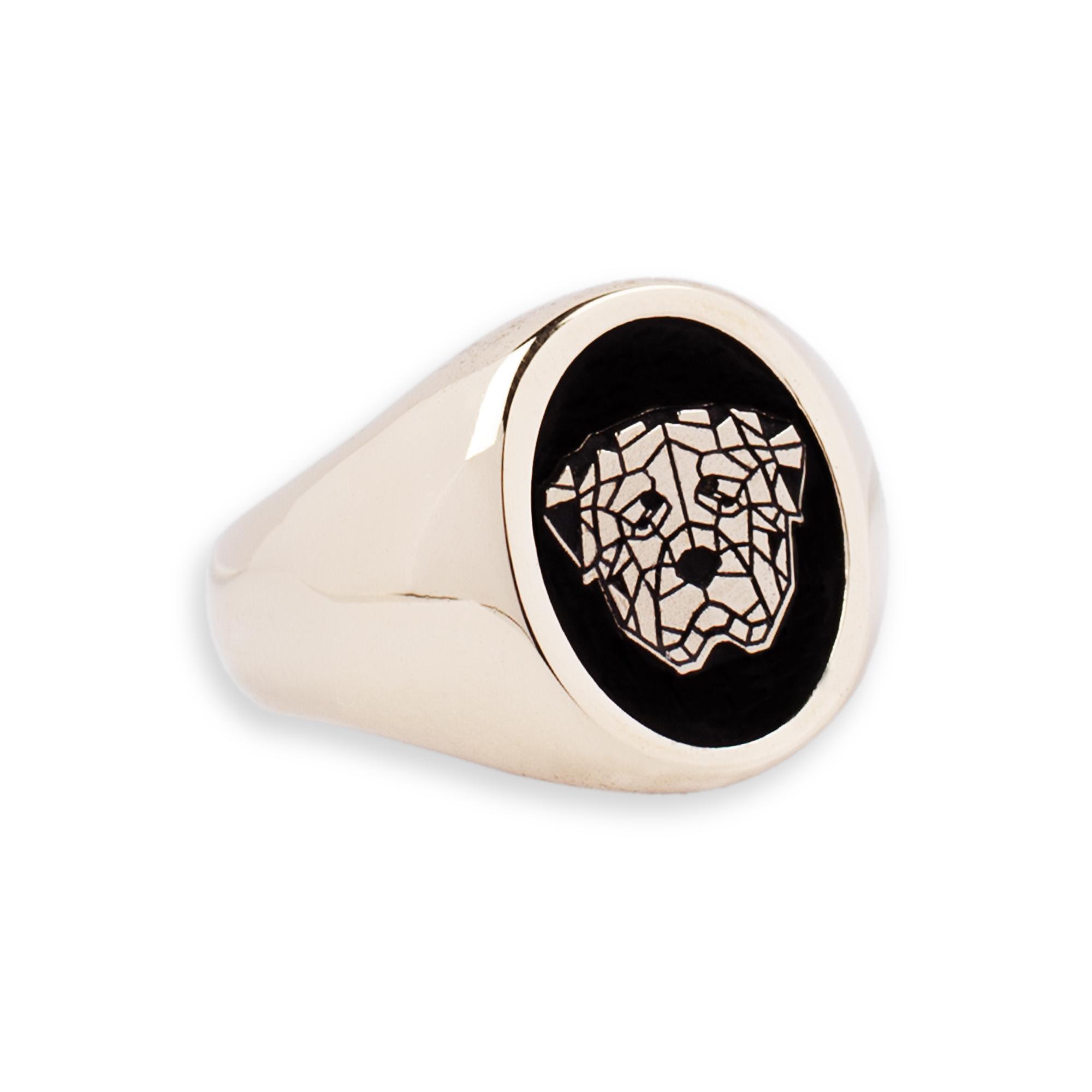 Bronze Rottweiler Ring
