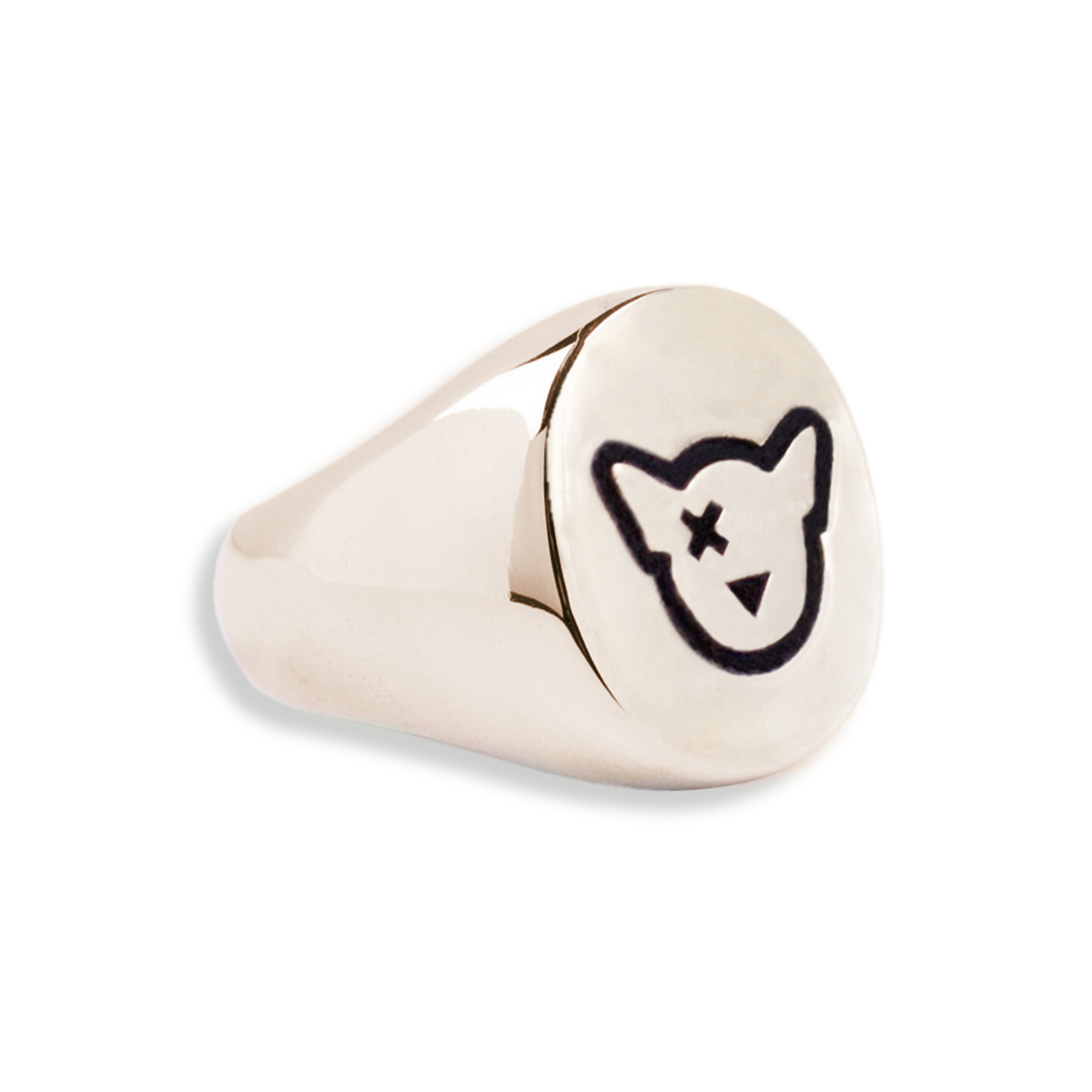 Bronze Doge Logo Ring